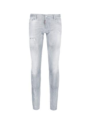 首图 - 点击放大 - DSQUARED2 - Slim水洗磨破修身牛仔裤