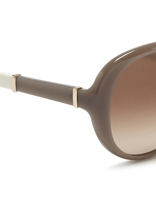 细节 - 点击放大 - CHLOÉ - 圆形板材镜框太阳眼镜
