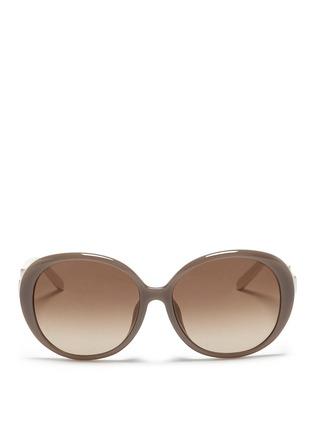 首图 - 点击放大 - CHLOÉ - 圆形板材镜框太阳眼镜