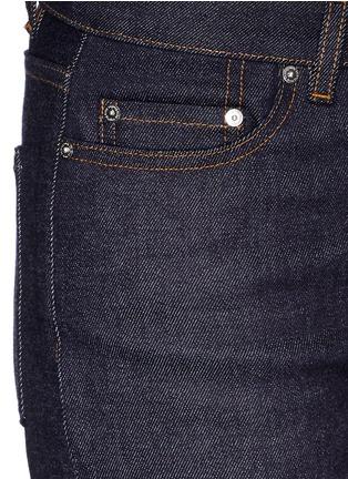 细节 - 点击放大 - ACNE STUDIOS - ROW棉质Boyfriend款九分牛仔裤