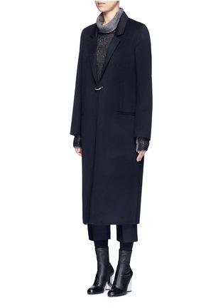 正面 - 点击放大 - ACNE STUDIOS - FOIN D形扣羊毛混羊绒大衣