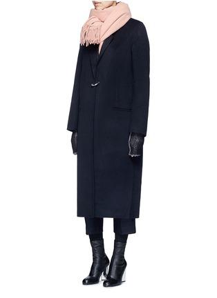模特示范图 - 点击放大 - ACNE STUDIOS - FOIN D形扣羊毛混羊绒大衣