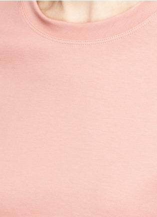 细节 - 点击放大 - ACNE STUDIOS - EDREN圆领纯棉T恤