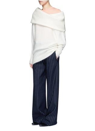 模特儿示范图 - 点击放大 - ACNE STUDIOS - EDREN圆领纯棉T恤