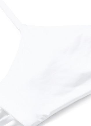 细节 - 点击放大 - VITAMIN A  - GEMMA多重搭带EcoLux™比基尼泳衣