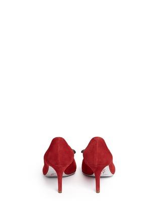 背面 - 点击放大 - RENÉ CAOVILLA - X BLITZ仿水晶结饰绒面皮细高跟鞋