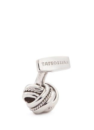 细节 - 点击放大 - TATEOSSIAN - 螺旋扭结造型纯银袖扣