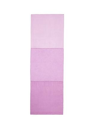 首图 - 点击放大 - JANAVI - 镂空车缝线拼色围巾