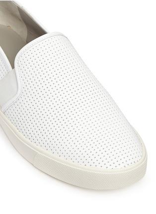 细节 - 点击放大 - VINCE - BLAIR方格纹理平底便鞋