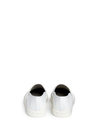 背面 - 点击放大 - VINCE - BLAIR方格纹理平底便鞋