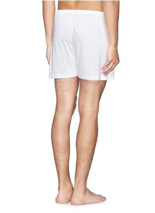 背面 - 点击放大 - ZIMMERLI - 纯棉平脚内裤