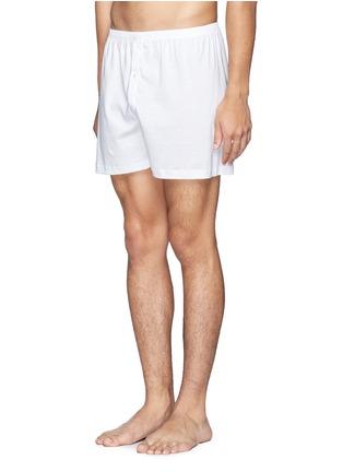 模特示范图 - 点击放大 - ZIMMERLI - 纯棉平脚内裤
