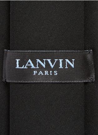 细节 - 点击放大 - LANVIN - 单色领带