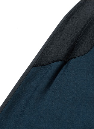 - BOGLIOLI - 缎面拼接羊毛混马海毛礼服套装