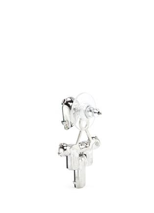 细节 - 点击放大 - JOOMI LIM - Pixel Perfect仿水晶装饰垂坠耳环