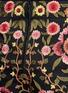 细节 - 点击放大 - ALICE + OLIVIA - 花卉刺绣棉质短裤