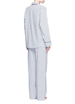 背面 - 点击放大 - ARAKS - Kate格纹纯棉睡衣