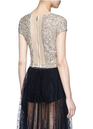 背面 - 点击放大 - ALICE + OLIVIA - 珠片仿水晶装饰T恤