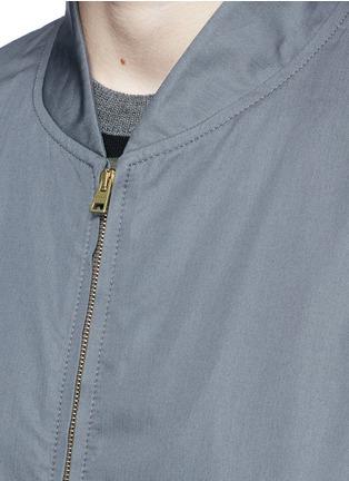 细节 - 点击放大 - MARNI - 单色纯棉棒球夹克