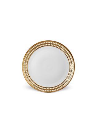 首图 –点击放大 - L'OBJET - Perlée人造珍珠镀金餐碟