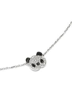 BAO BAO WAN 白色18K金钻石熊猫项链