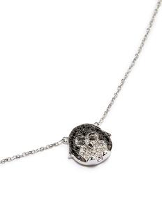 BAO BAO WAN 白色18K金钻石企鹅项链