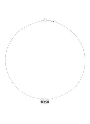 首图 - 点击放大 - BAO BAO WAN - 白色18K金钻石照相机项链