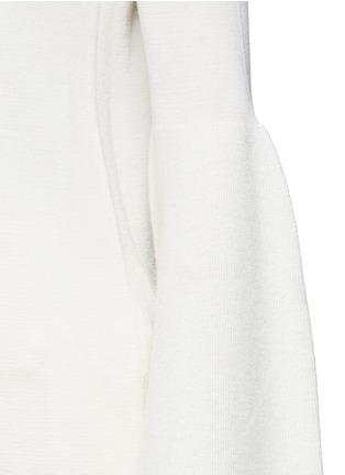 细节 - 点击放大 - The Row - 喇叭袖羊绒混丝针织衫