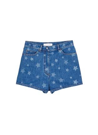 首图 - 点击放大 - VALENTINO - 五角星图案牛仔短裤