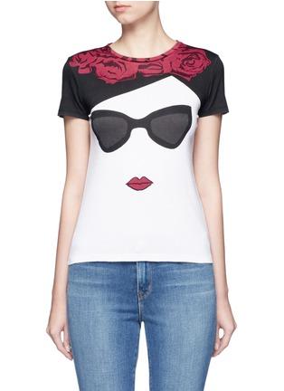 首图 - 点击放大 - ALICE + OLIVIA - Stace Face人脸图案纯棉T恤