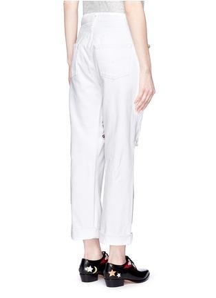背面 - 点击放大 - FORTE COUTURE - 人造珍珠复古牛仔裤