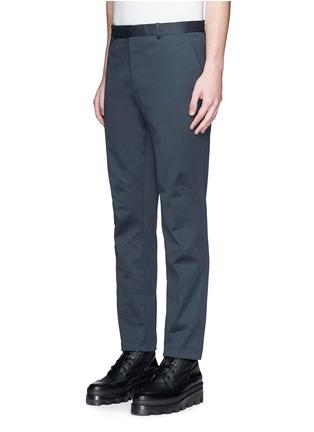 正面 -点击放大 - BALENCIAGA - 单色纯棉直脚长裤