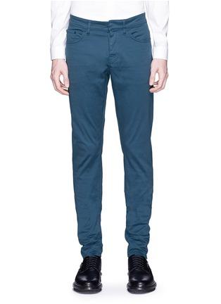 细节 - 点击放大 - BALENCIAGA - 单色修身牛仔裤