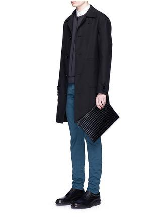 模特儿示范图 - 点击放大 - BALENCIAGA - 单色修身牛仔裤