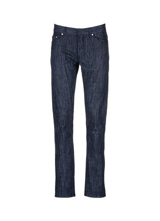 首图 - 点击放大 - BALENCIAGA - 格纹修身牛仔裤