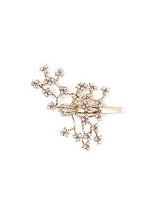 首图 - 点击放大 - LULU FROST - JACKIE藤蔓造型玻璃珍珠发夹