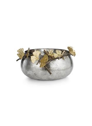 首图 –点击放大 - MICHAEL ARAM - 蝴蝶银杏叶装饰金属碗
