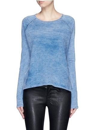 首图 - 点击放大 - RAG & BONE/JEAN - CAMDEN插肩袖漂白纯棉T恤
