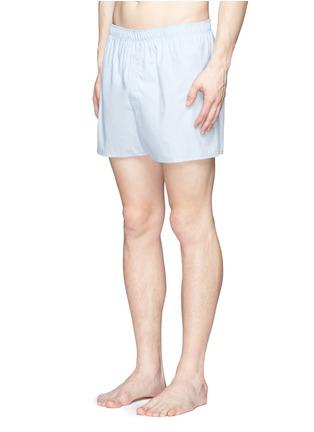 模特儿示范图 - 点击放大 - SUNSPEL - CLASSIC纯棉平脚内裤