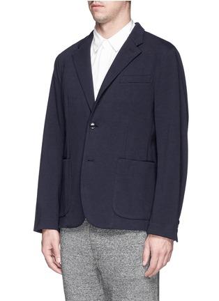正面 -点击放大 - NLST - Cotton jersey knit blazer