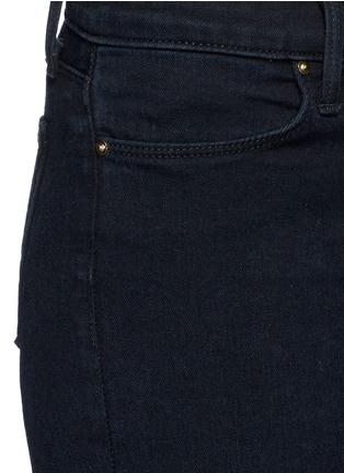细节 - 点击放大 - J BRAND - PHOTO READY ANKLE SKINNY破洞修身牛仔裤