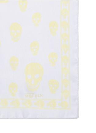 细节 - 点击放大 - Alexander McQueen - 骷髅头真丝围巾