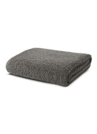 首图 –点击放大 - ABYSS - Super Pile大号埃及长绒棉浴巾-灰色
