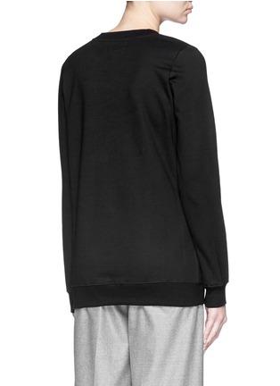 背面 - 点击放大 - MARKUS LUPFER - 珠片灯饰纯棉卫衣