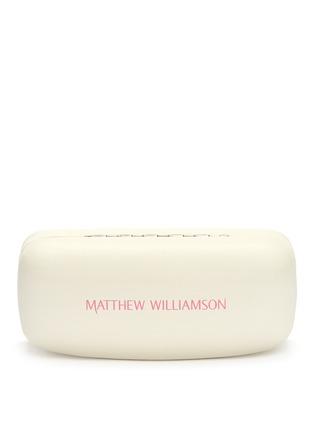 细节 - 点击放大 - MATTHEW WILLIAMSON - 金属圆框反光镜片太阳眼镜