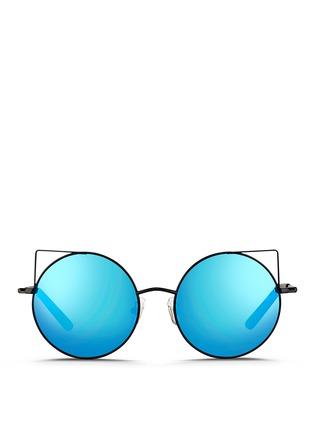 首图 - 点击放大 - MATTHEW WILLIAMSON - 金属圆框反光镜片太阳眼镜