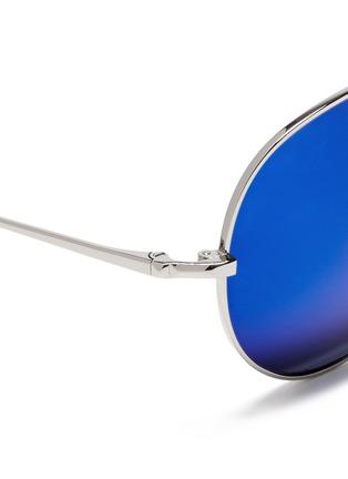 细节 - 点击放大 - MATTHEW WILLIAMSON - 金属框飞行员太阳眼镜