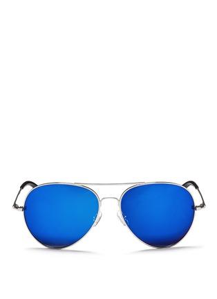 首图 - 点击放大 - MATTHEW WILLIAMSON - 金属框飞行员太阳眼镜