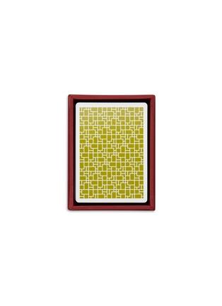 """首图 –点击放大 - SHANG XIA - """"随意""""水墨画扑克牌──绿色"""