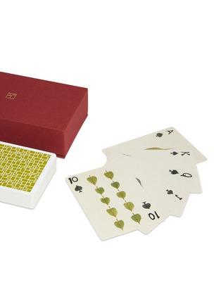 """- SHANG XIA - """"随意""""水墨画扑克牌──绿色"""